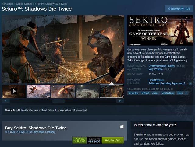 15 tựa game đỉnh cao đang giảm giá cực mạnh mùa Sale trên Steam (P1) - Ảnh 1.