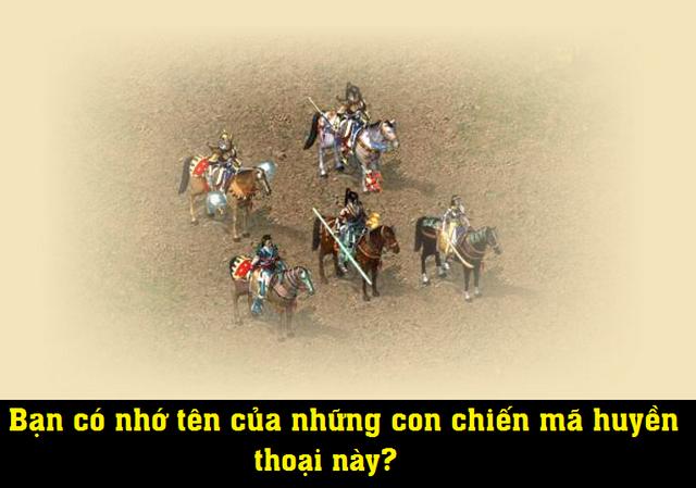 5 chiến mã từng một thời khiến cả cộng đồng Võ Lâm ráo riết săn lùng